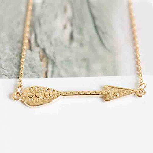 - HYMAYX Factory Direct Sale of Fashion Jewelry The Inca Arrow Feather Arrows Necklaces&Pendants Unisex Wholesale