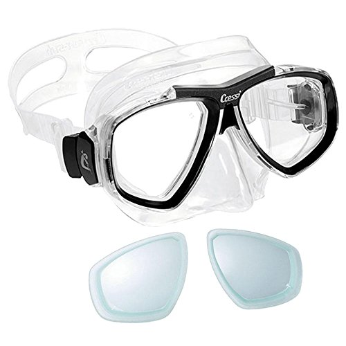 Cressi Focus Prescription Scuba Snorkel Mask Diopter Lens installed by GUpG