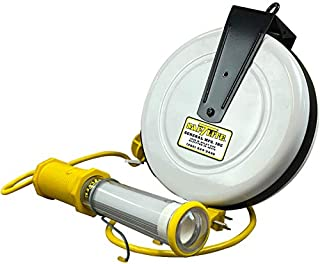product image for SafTLite Stubby II LED 1000 Lumen Work Light, no Endlight, 40' Reel, 18/2 SJTOW-A Cord 3613-4000