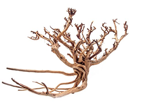 Aquatic Arts 1 X-Large Piece of Tiger Wood Natural Aquarium Driftwood, 14-18'' by Aquatic Arts