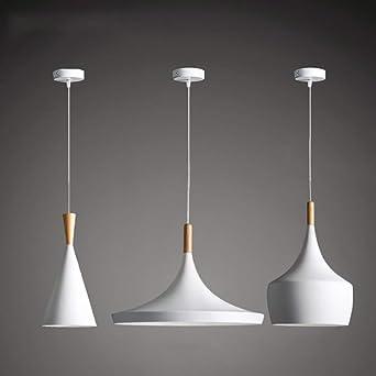 Suspension Bois Métal Lampe En Yjlight Moderne 9D2HEWI