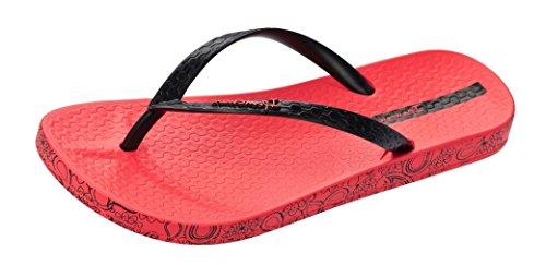 Ipanema Impresso Flip Flops Mujeres / Sandalias Red