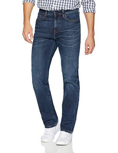 Goodthreads Men's Straight-Fit Jean, Medium Blue, 33W x 28L