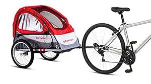 """Schwinn Trailblazer Single Bike Trailer with Quick-Release Wheels, 16"""" Wheels"""