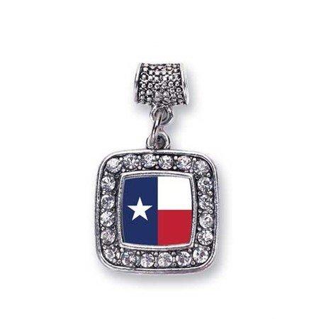 3552abfd0c47b Amazon.com: Texas Flag Charm for Pandora Bracelets, Chamilia, Troll ...