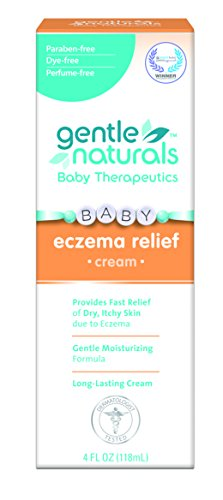 Gentle Naturals Eczema Cream, 4 Ounce (Best Natural Baby Cream)