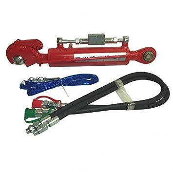 Hydraulischer Oberlenker Kat2 mit Fanghaken 2-Hydraulikschlauch//Hydraulisch