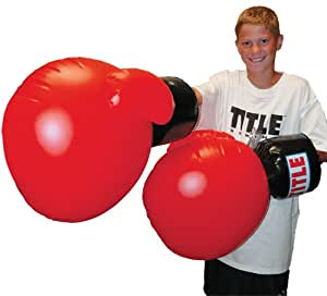 TITLE Inflatable Boxing Gloves