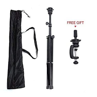 Lihui Wig Stand Tripod Adjustable Tripod Stand Tripod For Maniquin Heads Tripod Stand Holder For Hairdressing