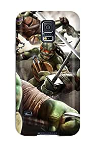 Hot Teenage Mutant Ninja Turtles First Grade Tpu Phone Case For Galaxy S5 Case Cover