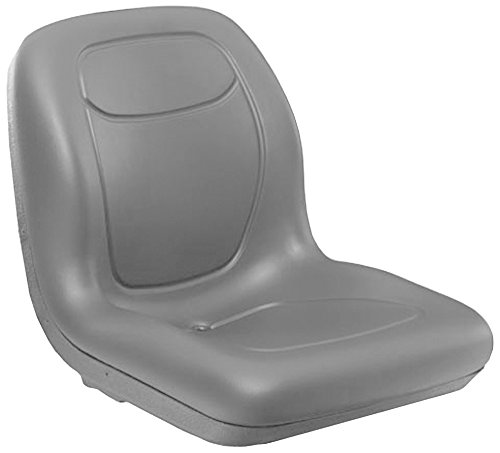 Stens 420-282 High Back Seat, Multi-hole mounting pattern, Waterproof vinyl, Simplicity: 5061599, 5061599SM, Toro: 112-2923, 119-8829, 99-7281, 18-5/8