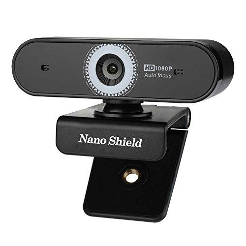 Webcam Auto Focus 1080P Nano Shield N920 with Noise Cancelling Microphone, Skype Web Camera Full HD for PC Laptop Computer, USB Web Cam for Windows 10/8/7 Mac OS X, Premium - Camera Autofocus