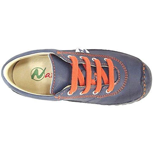 Naturino Apache 151-0012009070-03 Kinder Schnürschuhe dunkelblau/orange (navy/arancio)