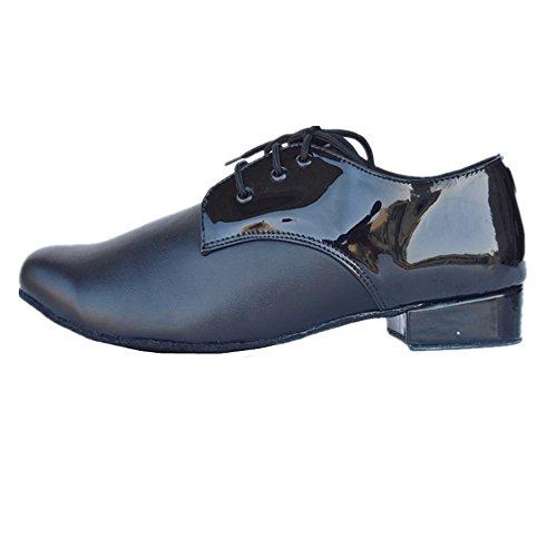 tmkoo 2018* Scarpe di danza moderna degli uomini in pelle in pelle scarpe di danza latina degli uomini GB scarpe di danza di soggiorno Scarpe di danza quadrata