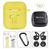 KeeGan Airpods Case Accessories 7 in 1