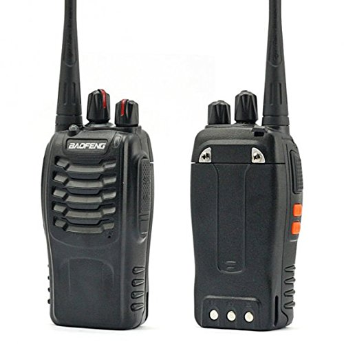 BaoFeng 1PCs 888S Walkie Talkies 1500mAh Rechargeable Battery 3 Miles Long Range with Earphone LED Flashlight Pofung BF-888S