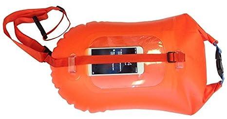 Boa hinchable smartphone soporte natación en mar abierto ...