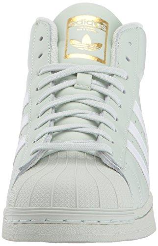 42 white Verde Da Uomo Adidas 5 linen gold Green Alte Promodel Metallic Sneaker q8PqnBUw
