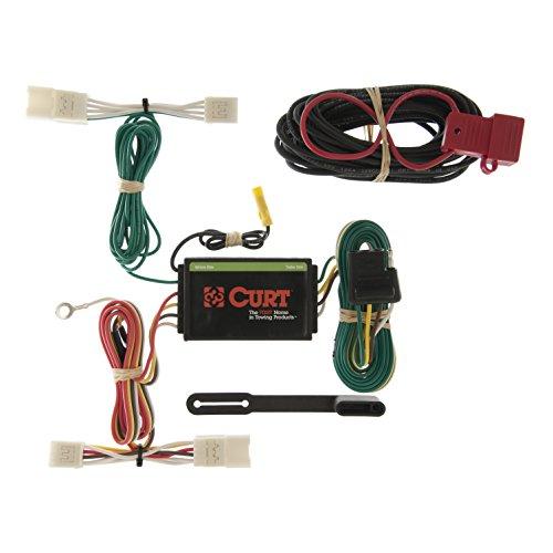 CURT 55400 Vehicle-Side Custom 4-Pin Trailer Wiring Harness for Select Toyota Highlander, Hyundai - Trailer Toyota Highlander Wiring