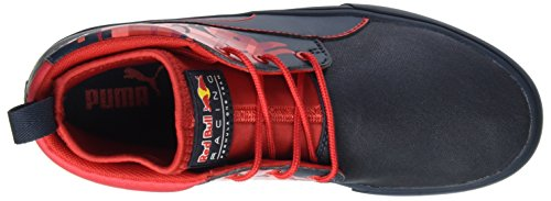 Puma Unisex Adults' RBR Desert Boot Bulls Low-Top Sneakers Blue (Total Eclipse-chinese Red) outlet cheap authentic opwbonjd