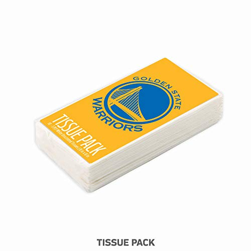 den State Warriors Tissue Packs 10-Pack, 100 Tissues. 3-Ply, White, Unscented. Officially Licensed. Gifts for Men, Women. Stocking Stuffers. ()