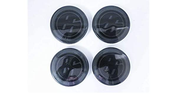 Replacement Alloy Black Wheel Hubs Center Caps Fit Scion FR-S FRS Toyota GT86