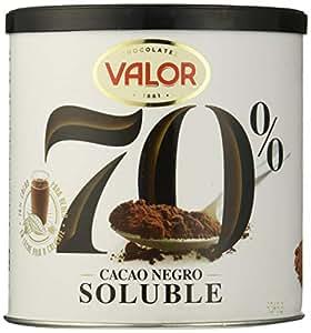 Valor, Cacao soluble Negro 70% - 6 de 300 gr. (Total: 1800 gr.)