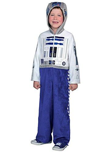 Princess Paradise Classic Star Wars Premium R2-D2 Jumpsuit, White/Blue, (R2d2 Costumes)