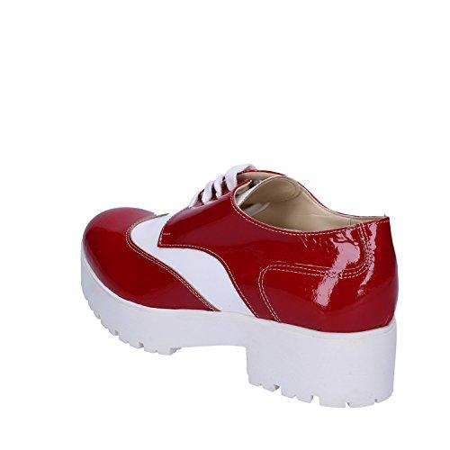 Charol Azzurro Elegantes 36 CRUZ Rojo Blanco Rojo EU Zapatos TXBqAa