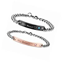His and Hers couples bracelet