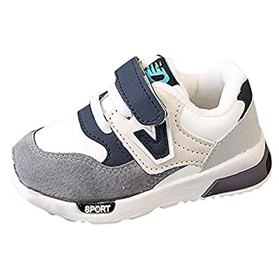Tronet Baby Boys Winter Children Casual Sneakers Mesh Soft Running Warm Shoes