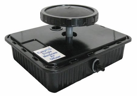 EasyPro EPMD1 Single Membrane Diffuser Assembly Airflow from .8 - 3 CFM by EasyPro