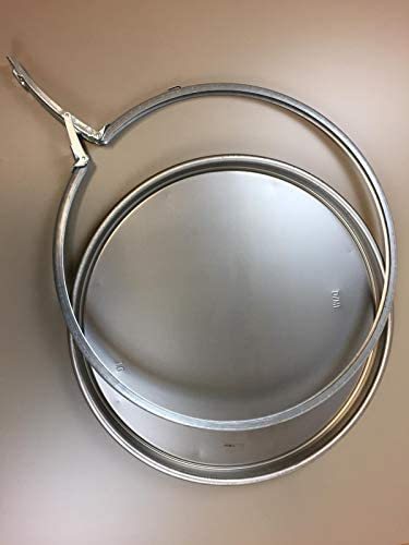 Fassdeckel Deckel 37cm ROH für Blechfass Ölfass Tonne Metallfass 60 Liter
