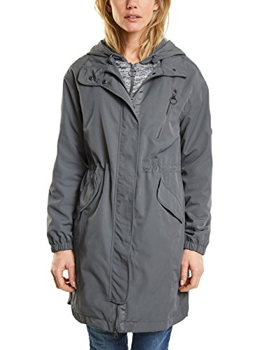 Cecil Parka para Mujer Gris (Graphit Light Grey 10498)