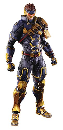Square Enix Marvel Universe Variant Play Arts Kai: Cyclops Action Figure (Solid Snake Square Enix)