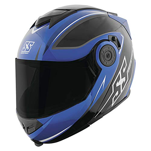 Speed & Strength SS1710 Helmet - Split Decision (LARGE) (BLUE/BLACK)