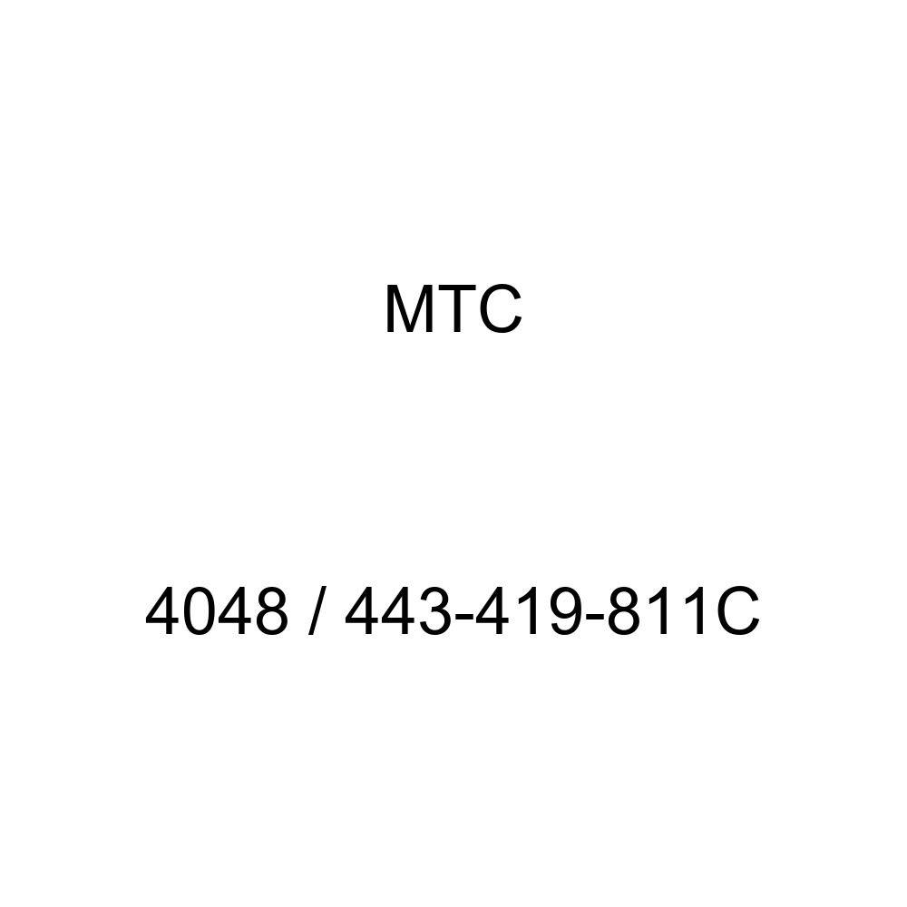 Left 443-419-811C MTC 4048 for Audi//Volkswagen Models MTC 4048//443-419-811C Tie Rod End
