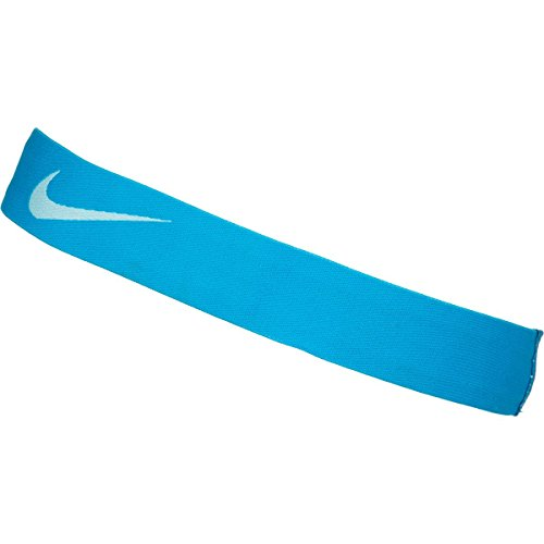 Nike Pro Swoosh Headband - blue lagoon/copa, one size by Nike