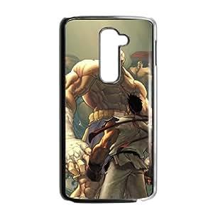 LG G2 Cell Phone Case Black Street Fighter Phone Case For Men Plastic XPDSUNTR13150