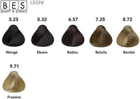 BES, Hi-Fi Color 100 ml 8.72 Rubio Ch. Tabaco Irise: Amazon ...
