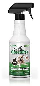 6. Dr. GreenPet Flea & Tick Natural Spray