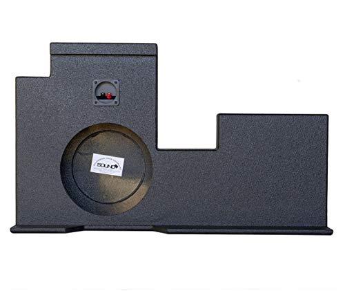 SoundBox Tundra Double Cab 2007-2018 Single 12″ Subwoofer Enclosure, BedLiner