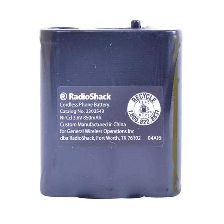 RadioShack/Enercell Rechargeable Cordless Phone Battery - Catalog No. 2302543
