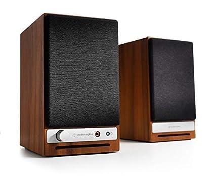 Audioengine HD3 Powered Bookshelf Speakers Pair Walnut