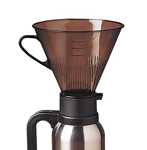 - RSVP Manual Drip Coffee Filter Cone for Carafes or Thermos