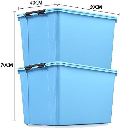 xmz Exterior/Interior Muebles de jardín, de Las Cajas de Almacenamiento de baúles de Almacenamiento en Caja de plástico: Amazon.es: Hogar