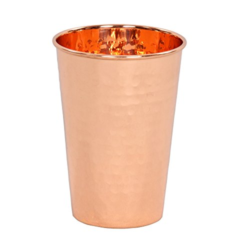 Used, Premium Quality Hammered Copper Tumbler - 100% Pure for sale  Delivered anywhere in USA