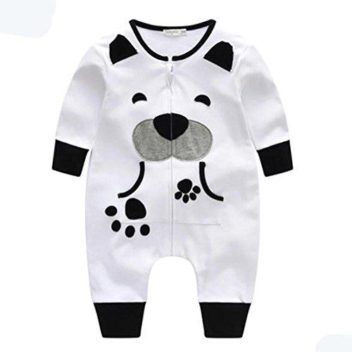 YINGER Pijamas para bebés Recién nacido Algodón Manga larga ...