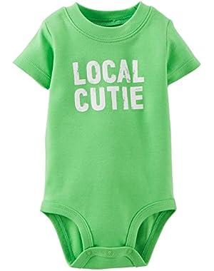 Carter's Baby Boys' Slogan Bodysuit (Baby)