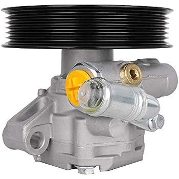 2011 gmc acadia power steering pump location